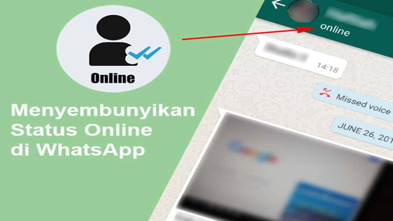 Tutorial Mudah Cara Menyembunyikan Status Online di WA (WhatsApp)