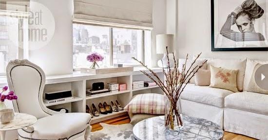 Manhattan Style Apartment Meaning: Blog Achados De Decoração : APARTAMENTO DE 51 M² COR DE