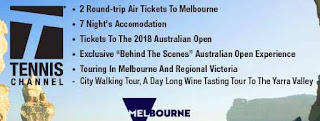US Tennis Giveaway to Watch Melbourne Australia Open