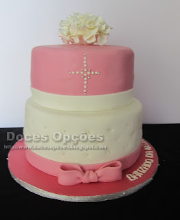 bolo bonito batizado bragança