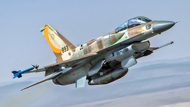 Pesawat tempur F16 Israel jatuh terkena rudal Suriah