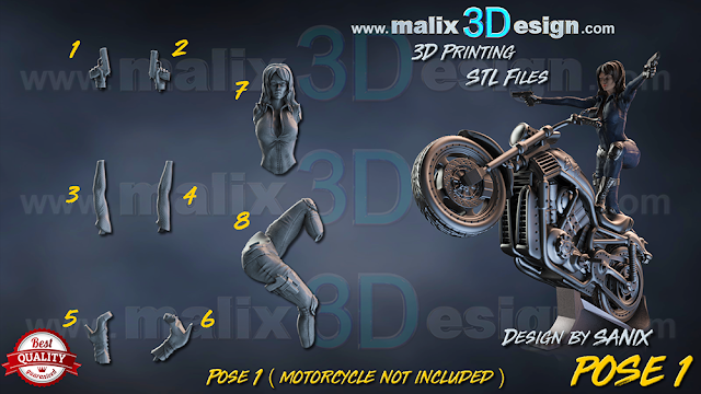 malix3design 3d printing files