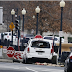 Woman in van arrested after striking White House barrier