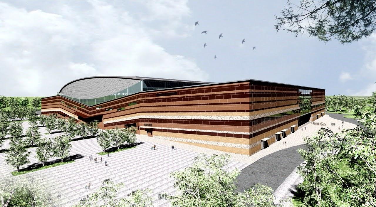 大台南會展中心2021年4月完工|特殊設計讓81公尺空間沒柱子|未來可作為集會、活動、大型展覽的場館