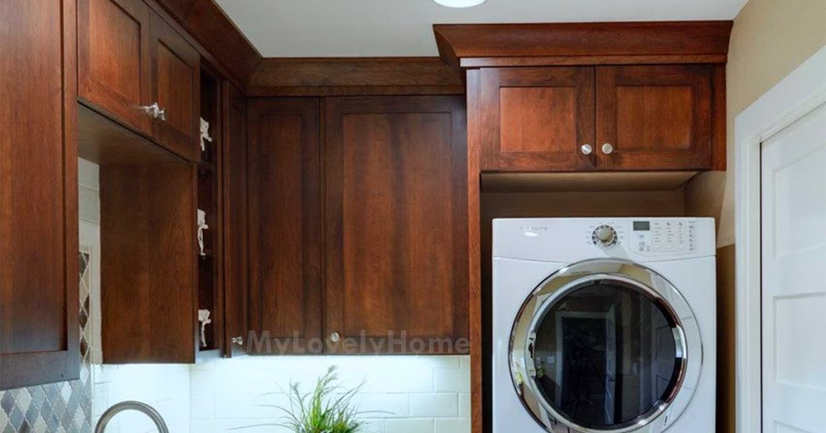 how to hide washer and dryer in kitchen  washing machine
