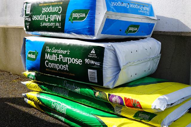 compost and grow bags - a stubborn optimist blog - C Gault 2020