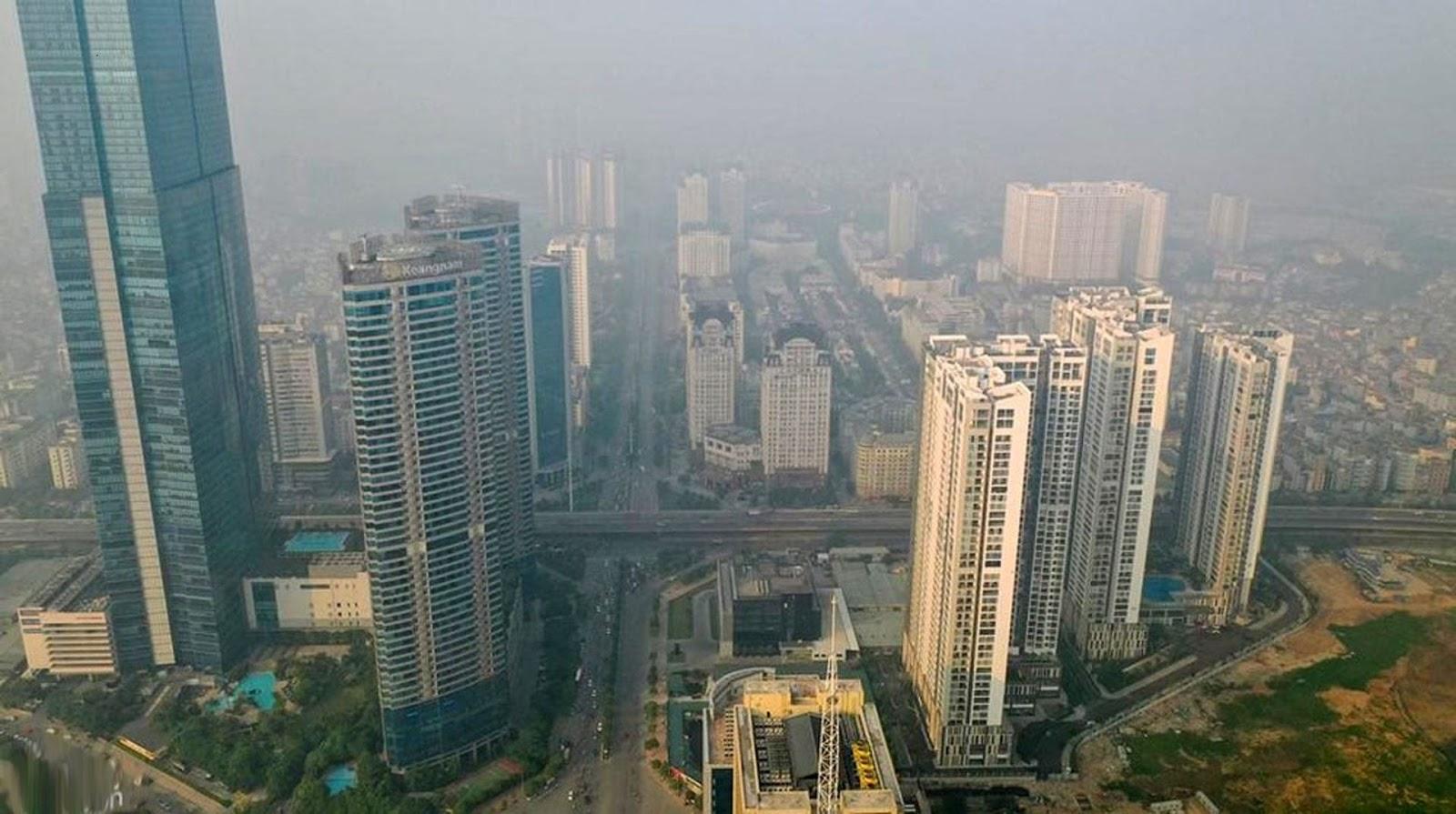 Hà Nội đang bị ô nhiễm nghiêm trọng.