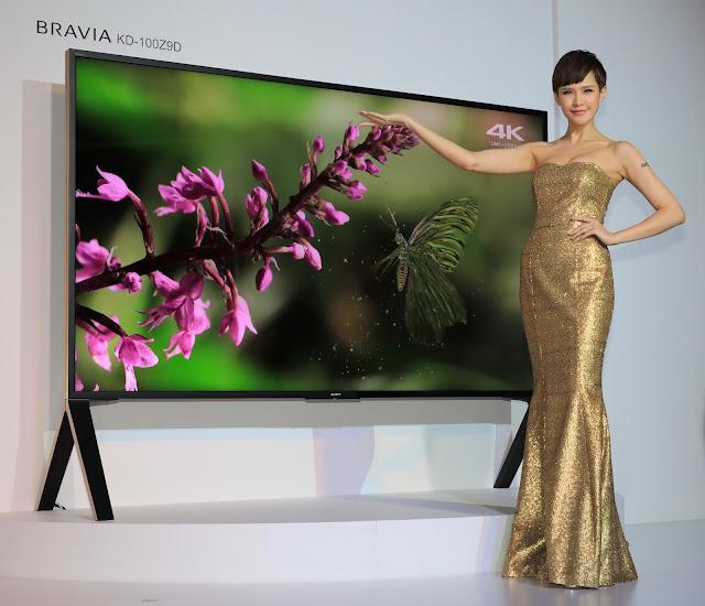 Sony 正式在台發表 Bravia 旗艦電視 Z9D 系列