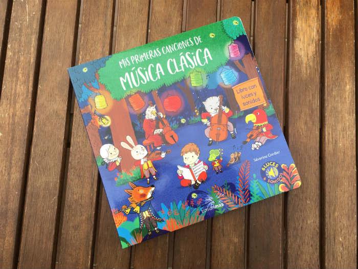 libro Mis primeras canciones de música clásica, con sonidos y luces
