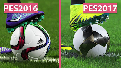 Pes 2016 vs Pes 2017