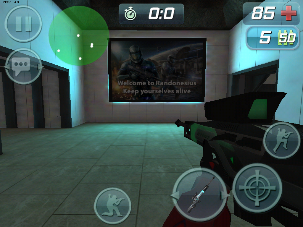 New FPS Game For Android Armv6 And Armv7 Devices (Critical