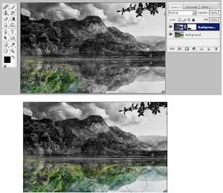 Edit Foto Photoshop Membuat Efek Dua Alam