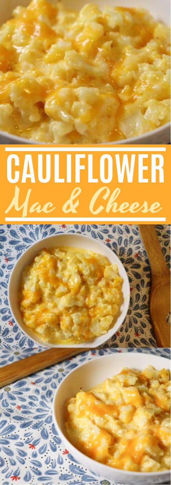 "Cauliflower ""Mac And Cheese"" #keto #lowcarb"