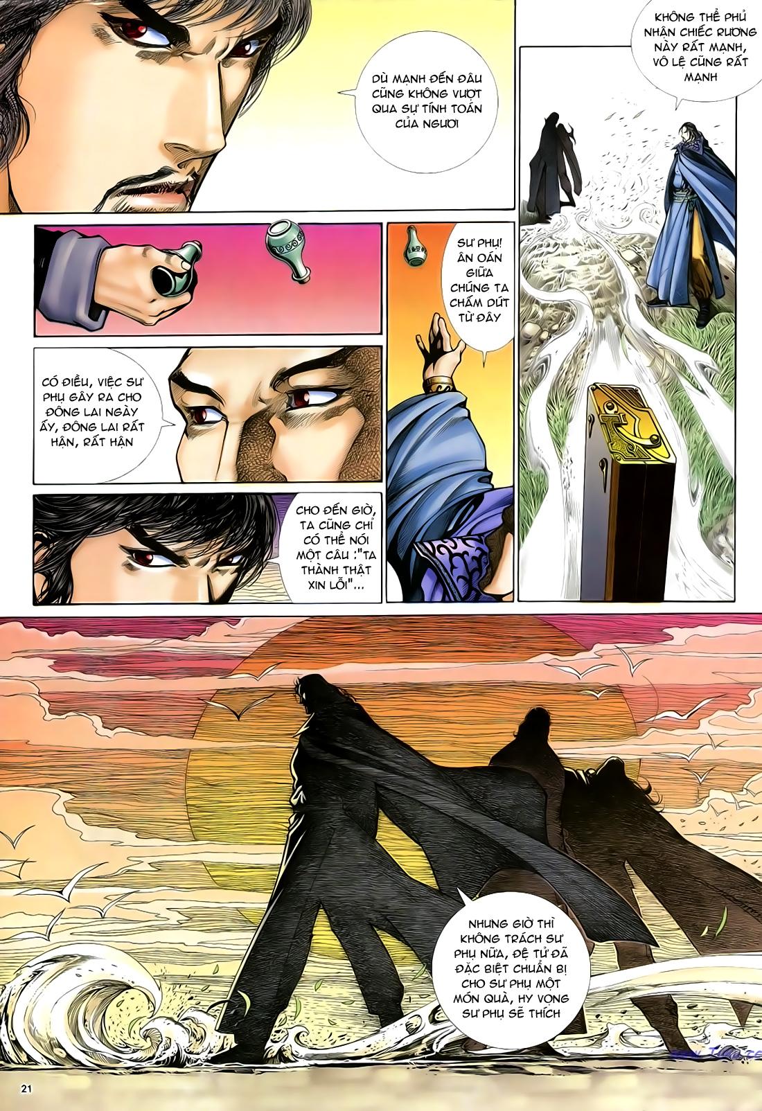 Anh hùng vô lệ Chap 29 trang 22