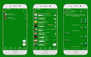 Green 2 Theme For YOWhatsApp & Fouad WhatsApp By Leidiane