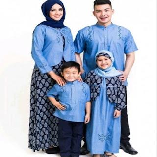 baju lebaran seragam keluarga