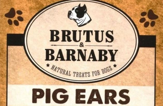Brutus & Barnaby Pig Ear Treats For Dogs Recalled