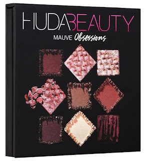 Huda Beauty Mauve Obsessions eyeshadow palette swatches + GWP