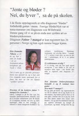 Eldre intervju med Gro Jeanette Nilsen