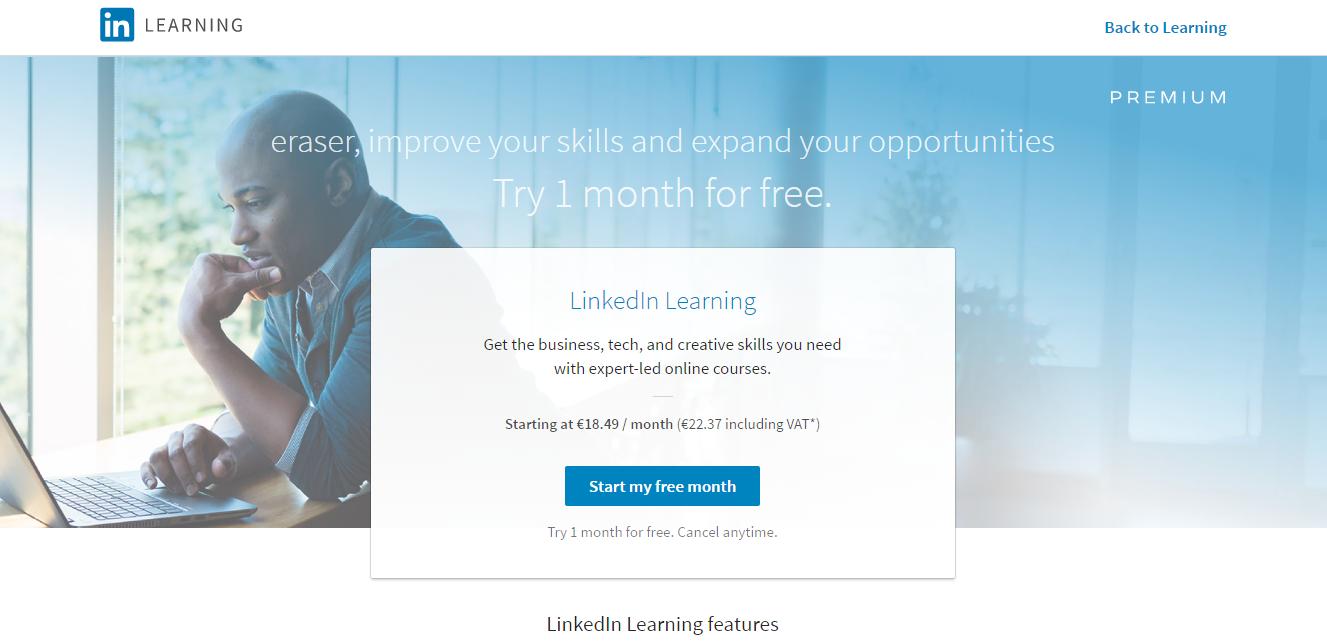 f37d0e03d2 Linkedin Learning. ...  eraser starting at €18.49... Microsoft ...
