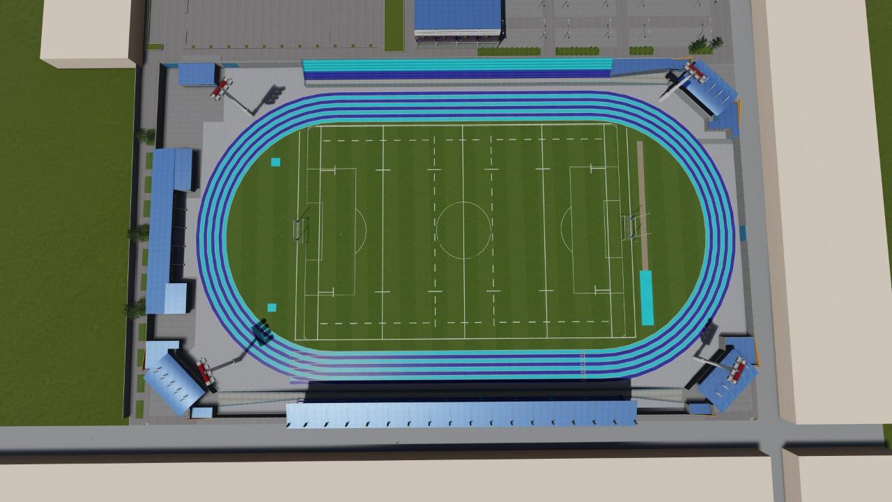 hoyennoticia.com, Anuncian firma del convenio para remodelar el estadio Federico Serrano Soto.
