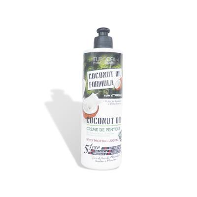 Resenha Creme para Pentear Coconut Oil Euroderm - Low Poo e No Poo