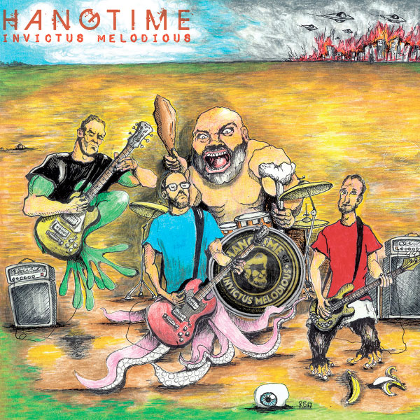 "Hangtime stream new album ""Invictus Melodius"""