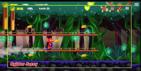 Game Spider Jerry Adventure Run
