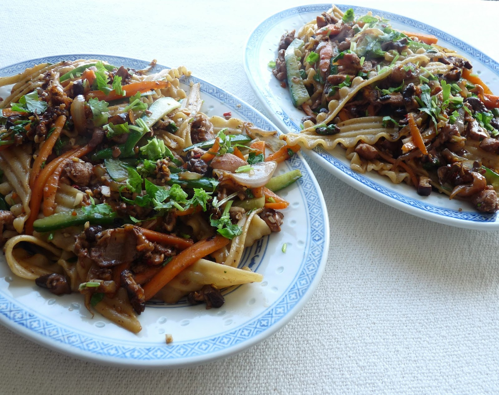 Seasonal Ontario Food: Spicy Chinese Style Noodles