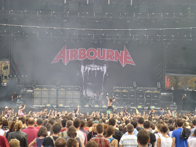 Airbourne festival Rock en Seine 2014
