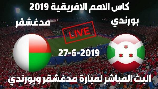 Live : madagascar vs burundi match en direct du jeudi 27 juin 2019