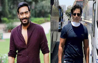 Ajay Devgn thanks Sonu Sood for sending migrant workers to their home