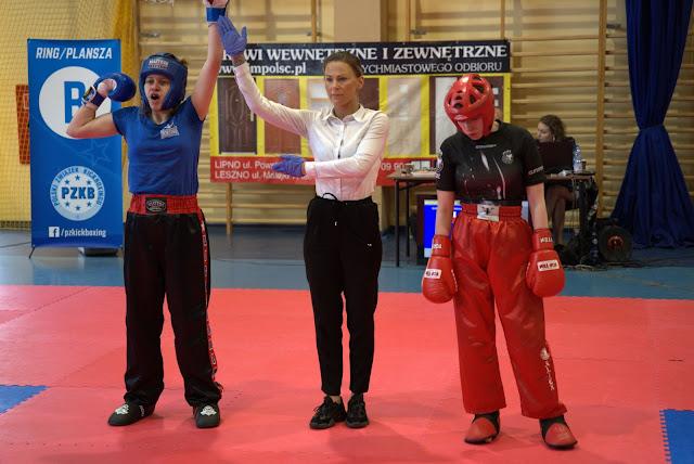 Maria Pawlikowska, Mistrz Polski, kickboxing, Zielona Góra, sport, light contact, Włoszakowice 2021, złoto, zawodniczka, trener