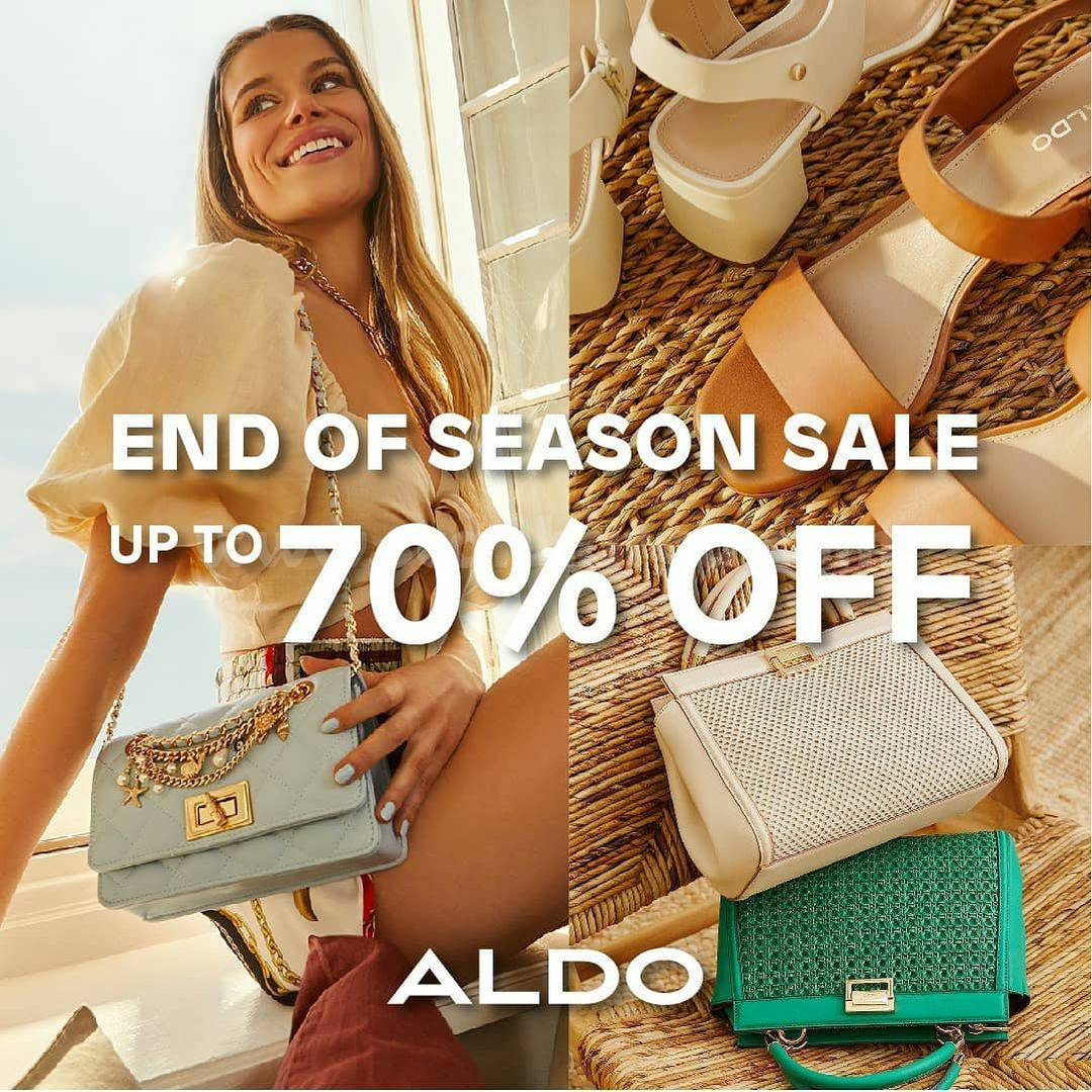 Promo ALDO Shoes End Of Season Sale Discount Up To 70% Off