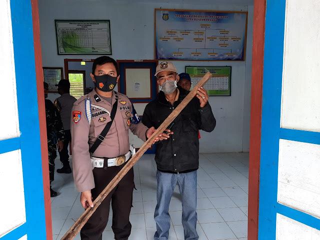 Kantor Desa Bontokoraang Disegel Warga, Aparat TNI-Polri Turun Langsung Ke TKP