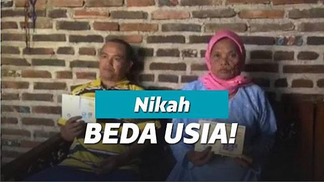 Pemuda 36 Tahun Nikahi Nenek 71 Tahun