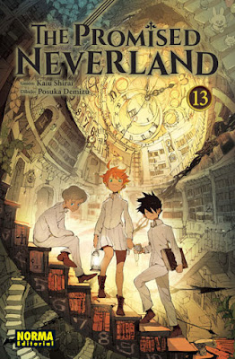 Manga: Review The Promised Neverland Vol 13 y 14 de Kaiu Shirai y Posuka Demizu - Norma Editorial