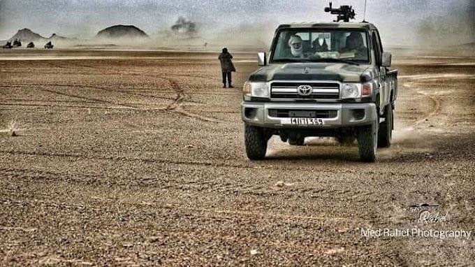 ⭕️ البلاغ العسكري 156 : الجيش الصحراوي يشن غارات جديدة على مواقع عسكرية مغربية في أوسرد، الگلتة والمحبس.
