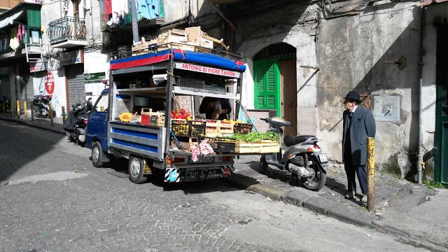 Venditore ambulante-Rione Sanità-Napoli