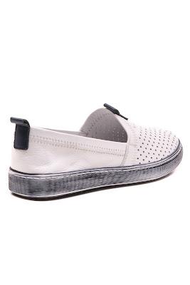 bağcıksız bayan spor babet ayakkabı