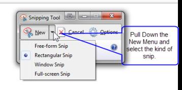 विंडोज एक्सेसरीज | स्निपिंग टूल  (Snipping Tool)