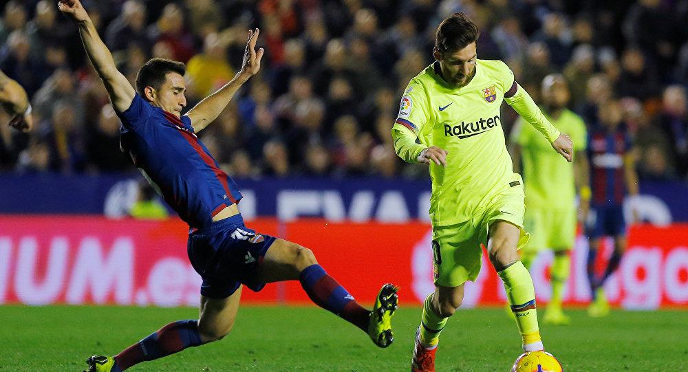 نتيجة مباراة برشلونة وليفانتي بتاريخ 02-11-2019 الدوري الاسباني