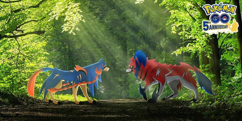 Zacian e Zamazenta Pokémon GO