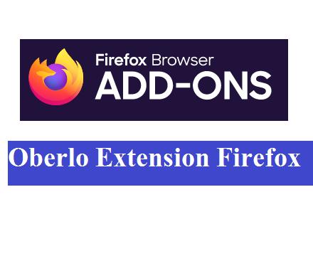 Oberlo Extension Firefox