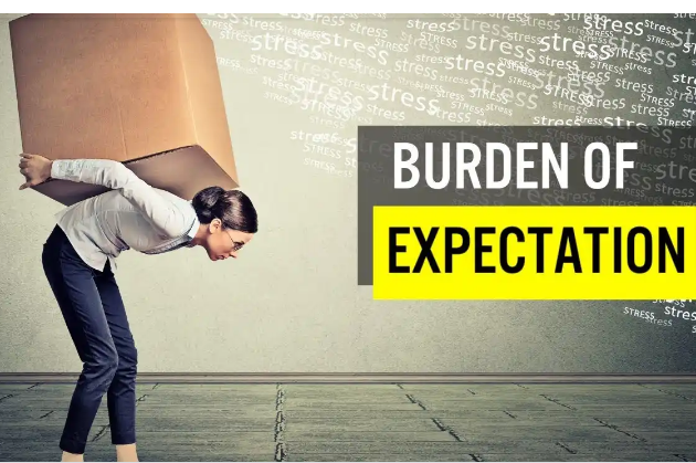 The burden of expectations (To whom much is given, much is expected)