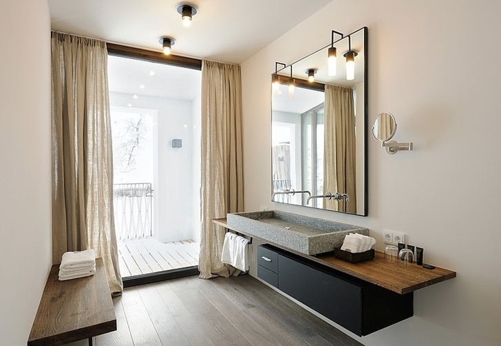 Modern bathroom in Boutique Hotel, Austria