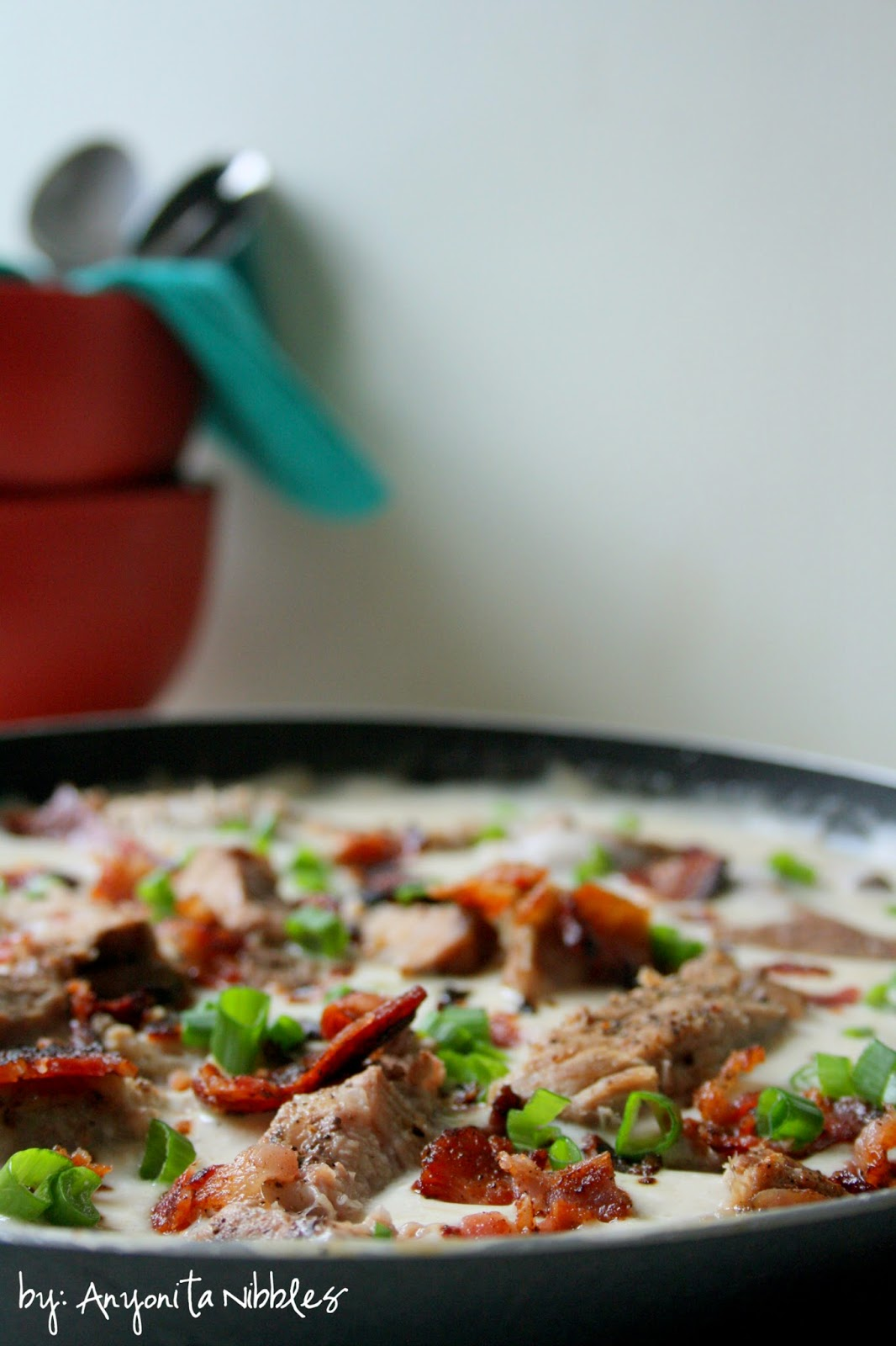 Creamy Pork Chop Skillet Soup from Anyonita-Nibbles.co.uk