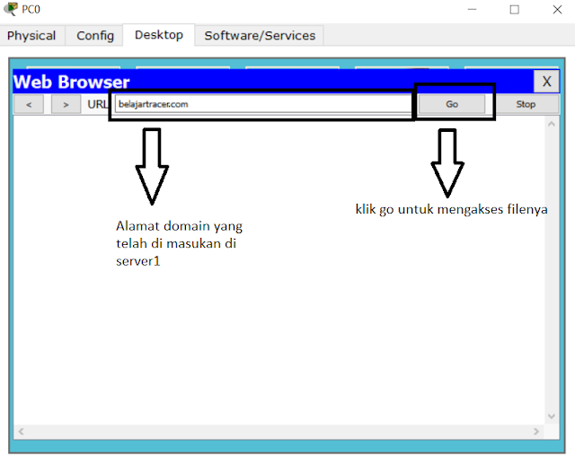 browsing di pc client