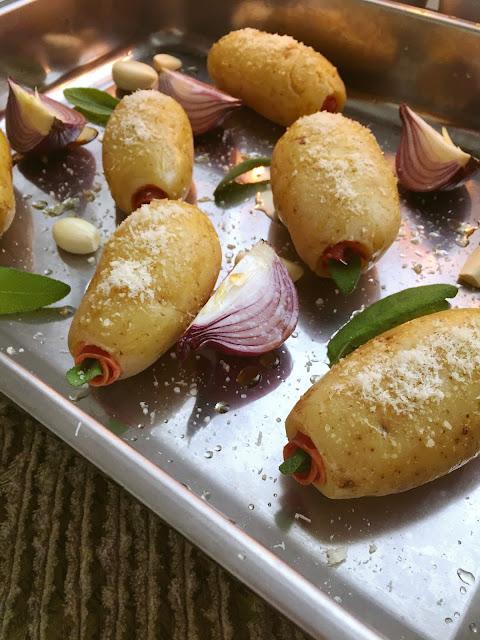 somaarki pekoni-salvia uuniperunat