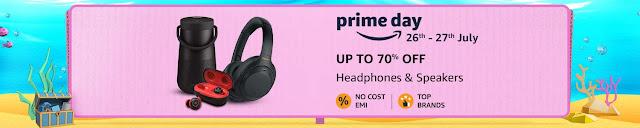 Amazon prime day headphones & speakers deals
